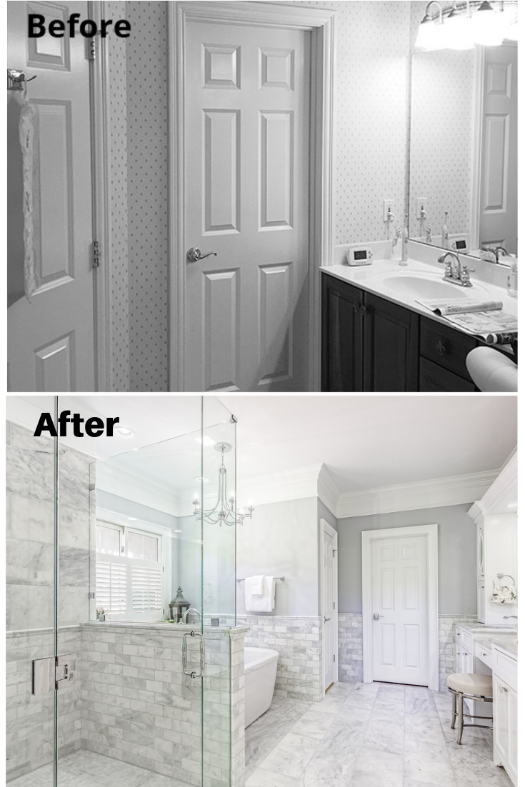Master Bath Makeover Columbus Ohio