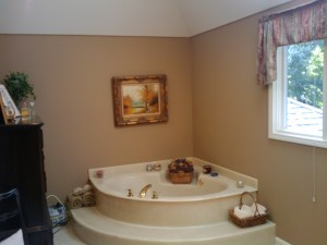 luxurious open bathroom remodel tub