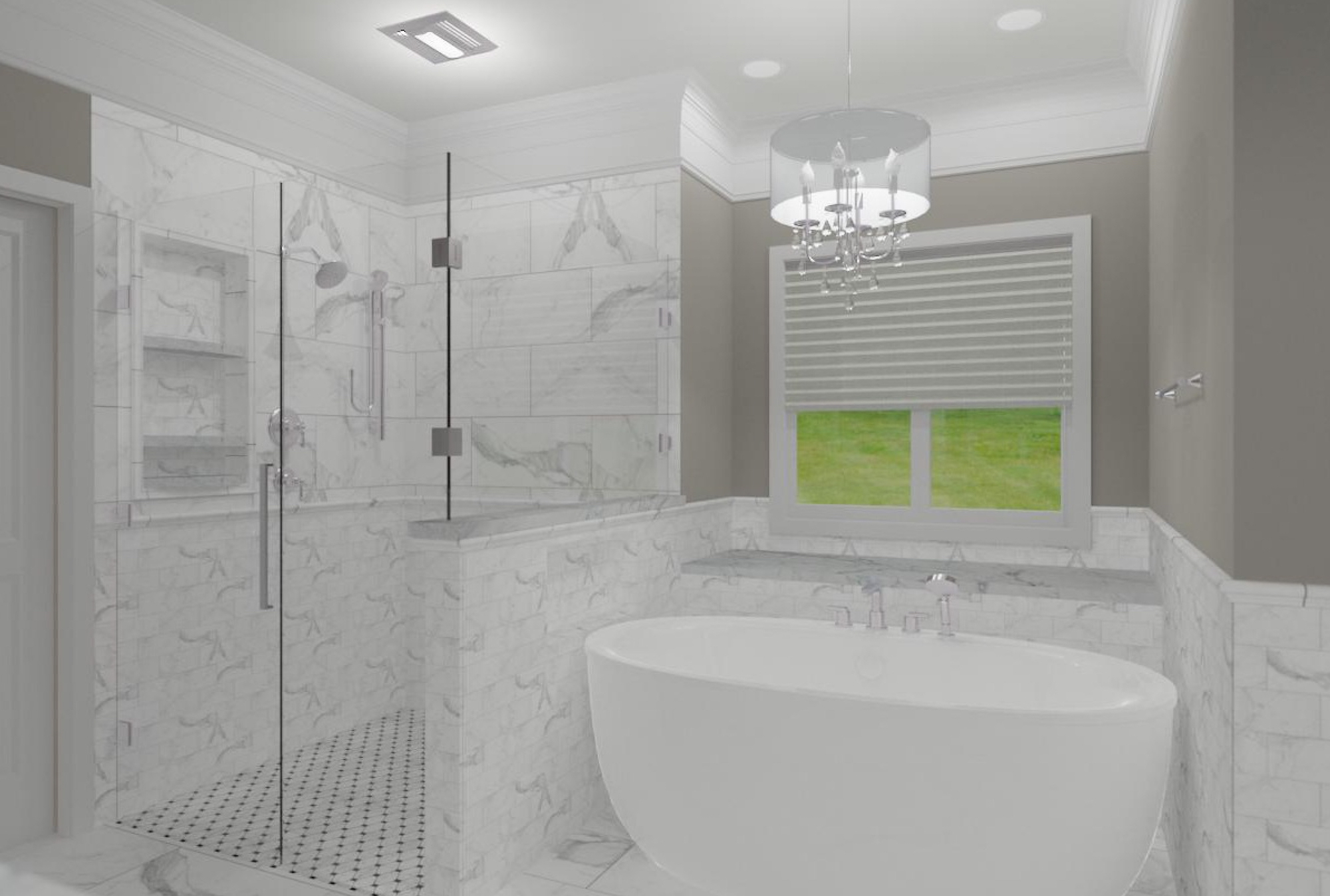 Master Bathroom Remodeling in Columbus Ohio