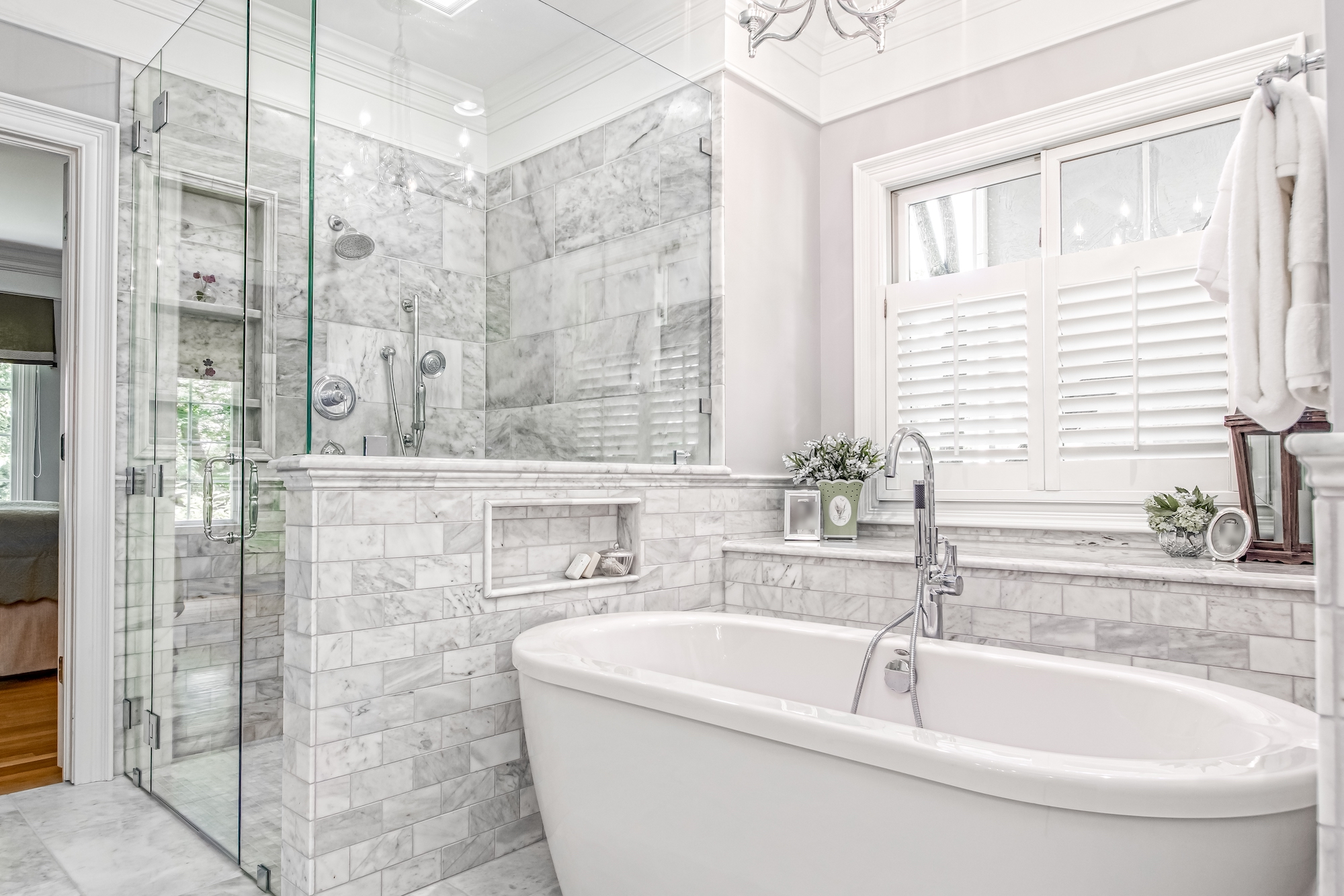 Immaculate Bath Remodel in Powell Ohio | Bathroom Remodel ...